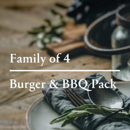 Burger BBQ Pack