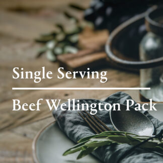 Beef Wellington Pack